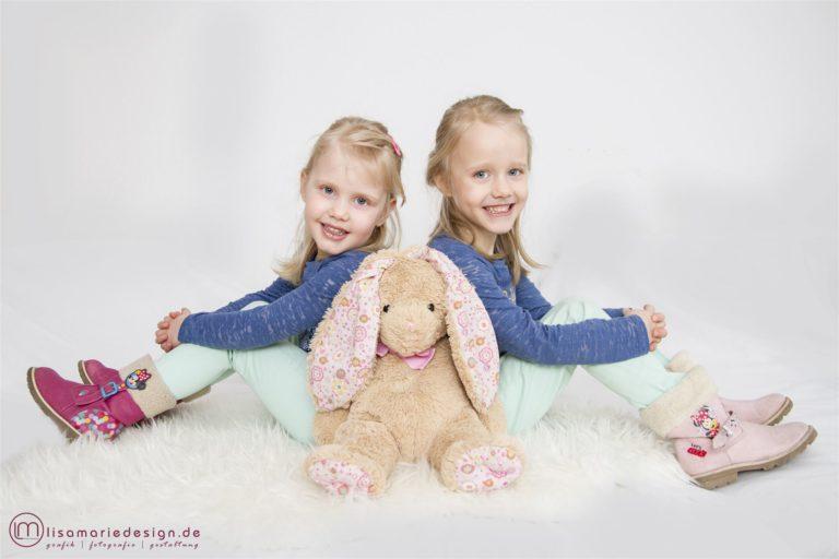 Kinderfotoshooting für Ostern