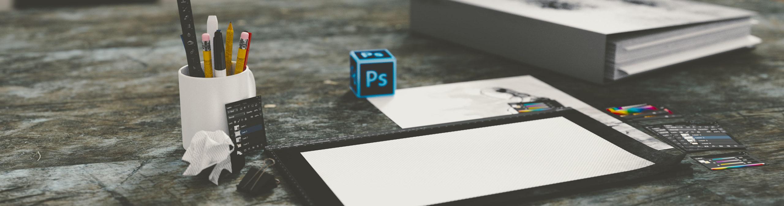 Titelbild-Grafikdesign-Printmedien