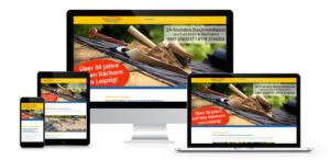 Webdesign Dachnotdienst Leipzig