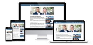 Webdesign für die Gronvald Rechtsanwälte