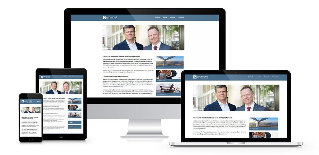 WordPress-Webdesign-GronvaldRechtsanwälte-Beitrag