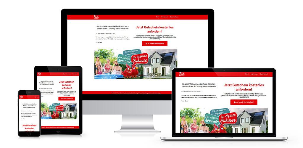 Webdesign für TC Hauskaufberatung René Böttcher