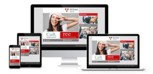 Responsives Webdesign für den jur. Fachverlag Bodag GmbH