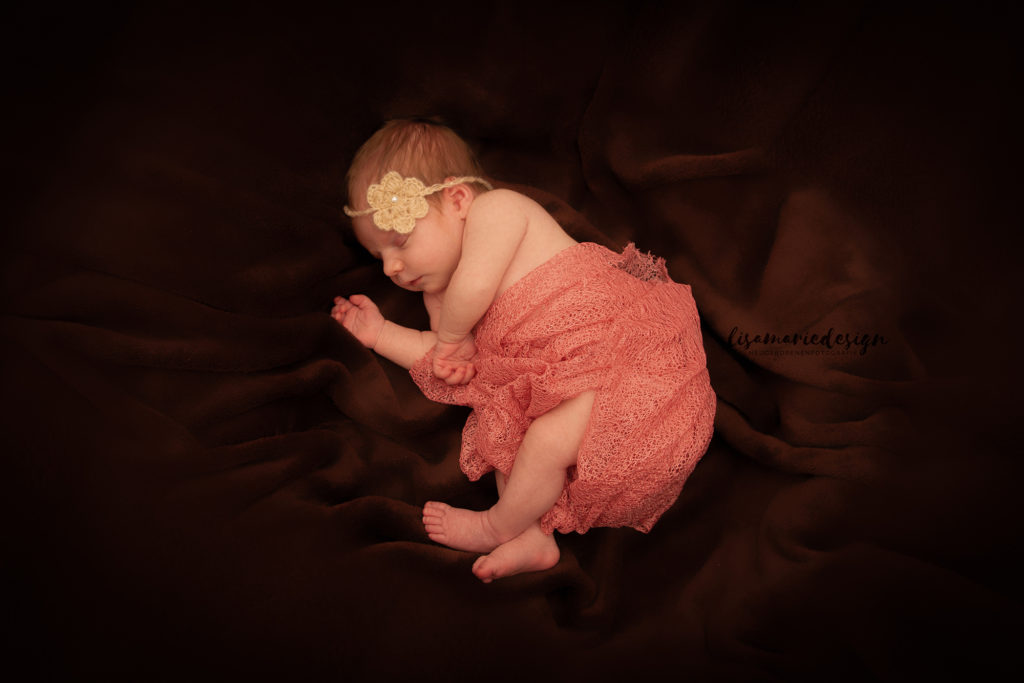 Babyfoto aus einem Neugeborenenshooting in Leipzig